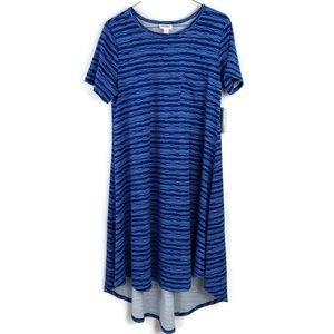 LuLaRoe NEW Striped Carly Summer Shirt Dress NWT